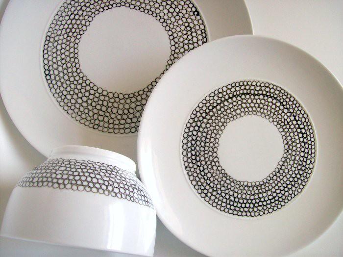 DIY-painted porcelain