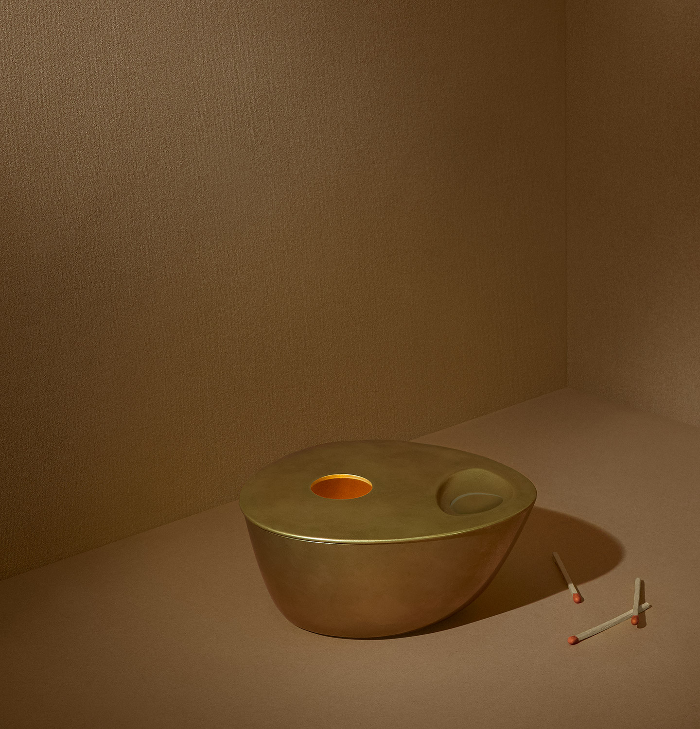 Brass Oil Burner Campaign Product Detail Page