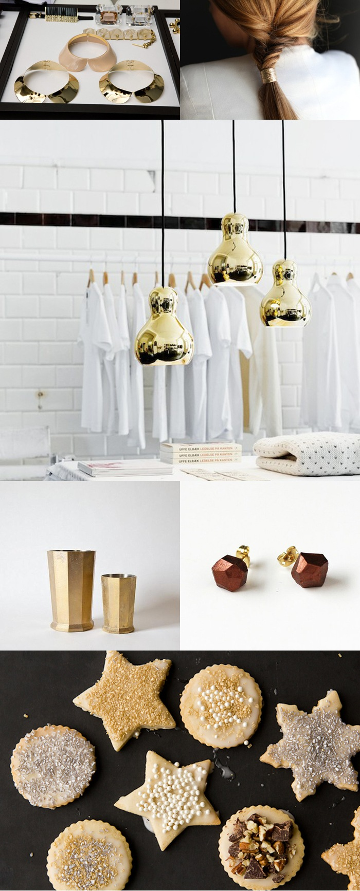 collection of metallics