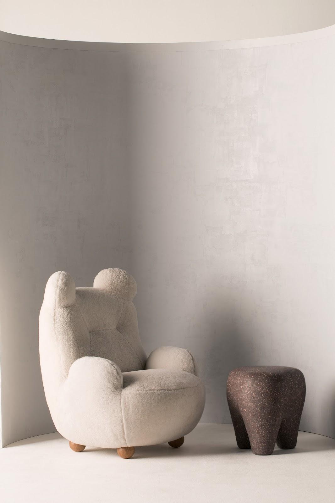 oops pierre yovanovitch bear chair design furniture dezeen 2364 col 8